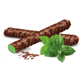 Chocolate Snacking Sticks Mint | Cooks Confectionery