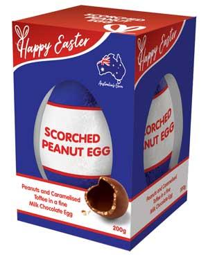 Scorched Peanut Easter Egg